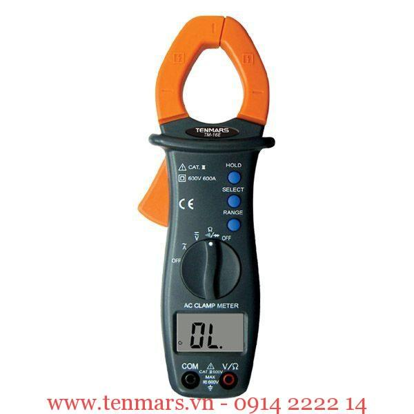 Ampe kìm Tenmars TM-16E (600A/600V)