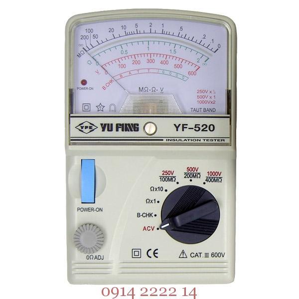 Đo điện trở cách điện Tenmars YF-520