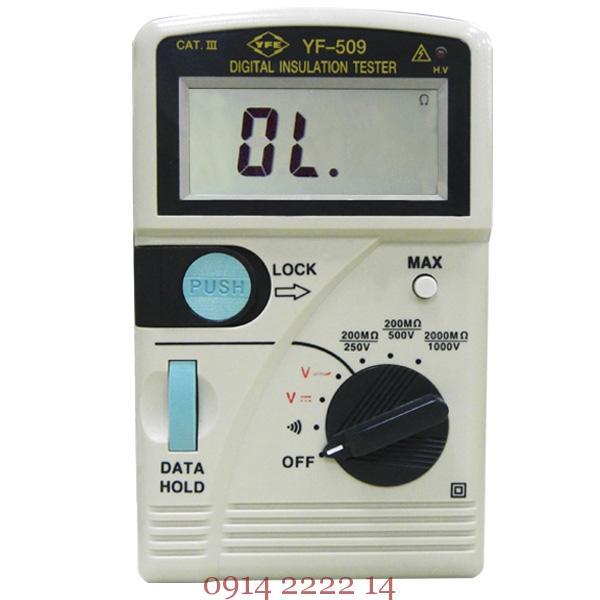 Máy đo điện trở cách điện Tenmars YF-509