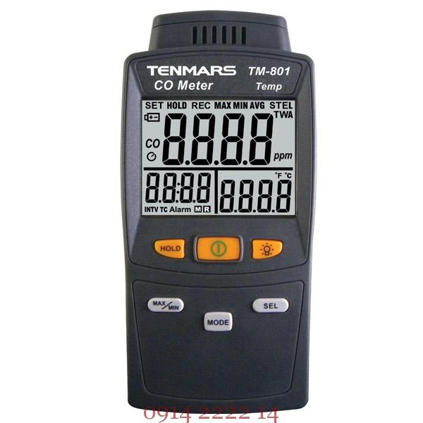 Máy đo khí CO Tenmars TM-801