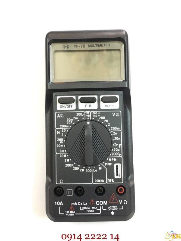 Đồng hồ dò LCR Tenmars YF-78