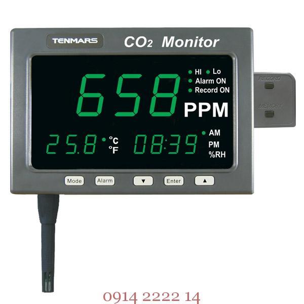 Máy đo khí CO2 và nhiệt độ Tenmars TM-187D