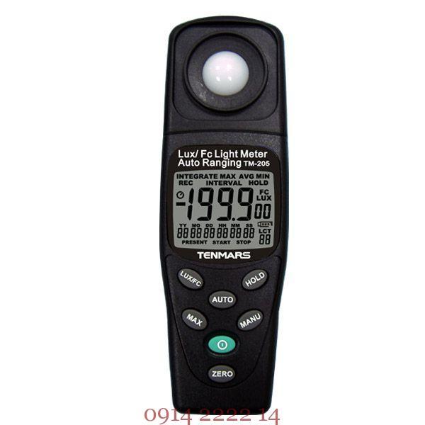 Máy đo ánh sáng Tenmars TM-205