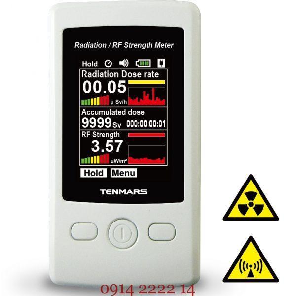 Máy đo bức xạ và cường độ sóng vô tuyến RF Tenmars TM-93