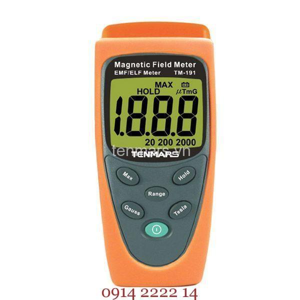 Máy đo điện từ trường Tenmars TM-191: Đo sóng điện từ