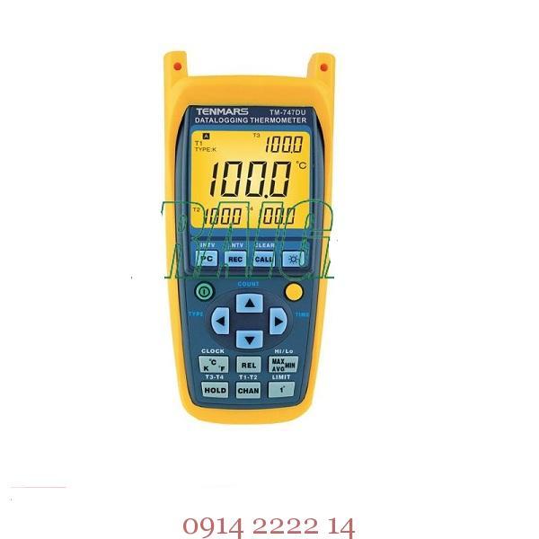 Máy đo ghi nhiệt độ Tenmars TM-747DU
