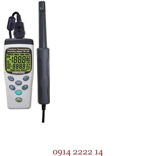 Bộ đo nhiệt độ độ ẩm Tenmars TM-184