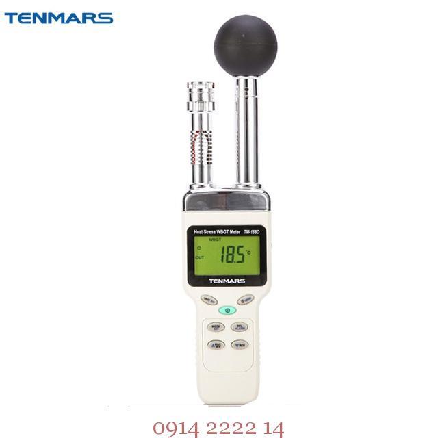 Hướng dẫn sử dụng máy đo nhiệt độ độ ẩm Tenmars TM-188D