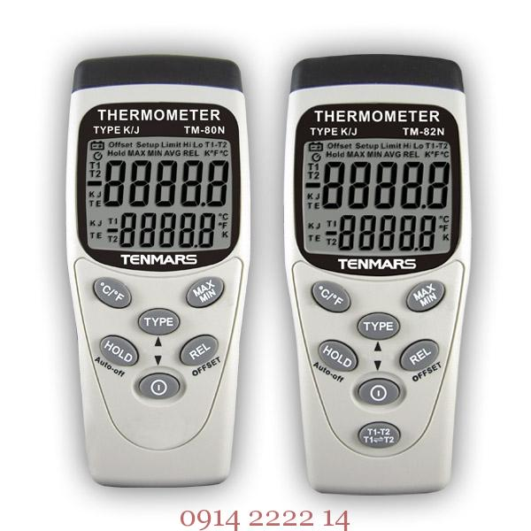 Máy đo nhiệt độ kiểu K Tenmars TM-80N