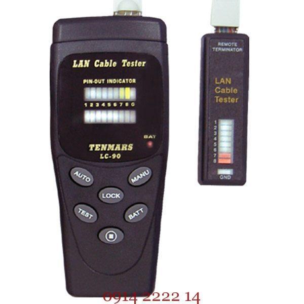 Thiết bị kiểm tra cáp mạng Tenmars LC-90