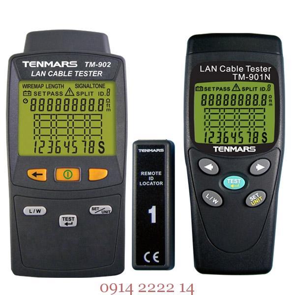Thiết bị kiểm tra cáp mạng Tenmars TM-901N / TM-902