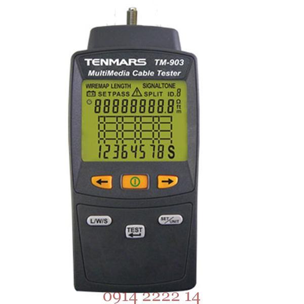 Thiết bị kiểm tra cáp mạng Tenmars TM-903
