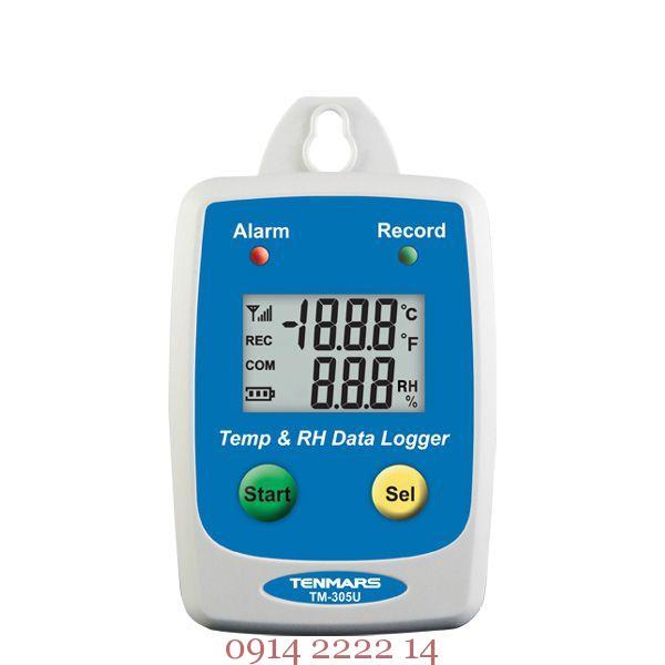 Tenmars TM-305U nhiệt kế tự ghi