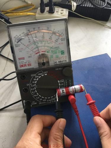 Đồng hồ vạn năng đo dòng điện một chiều