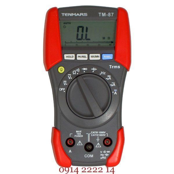 Thiết bị đo điện vạn năng Tenmars TM-87