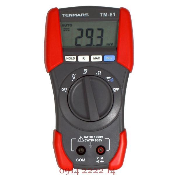 Đồng hồ vạn năng Tenmars TM-81