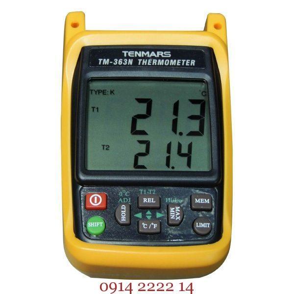 Máy đo nhiệt độ tiếp xúc Tenmars TM-363N