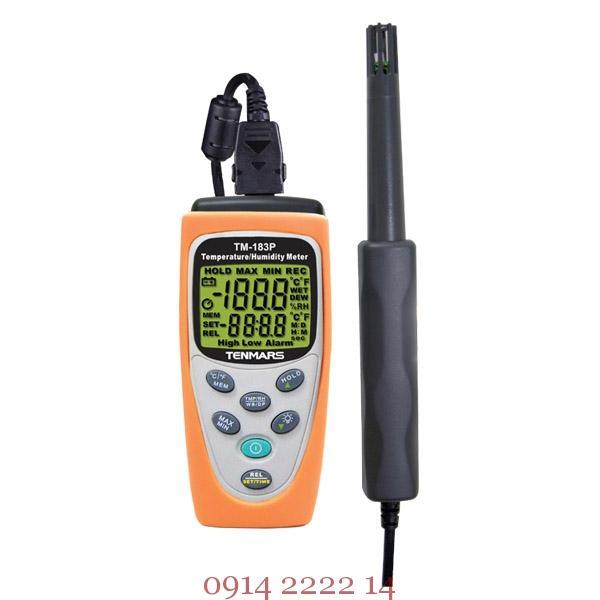 Thiết bị đo nhiệt độ độ ẩm Tenmars TM-183P