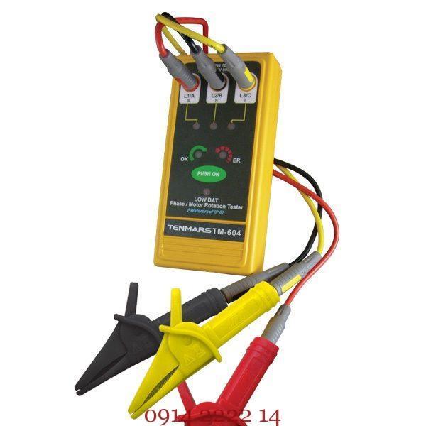Máy đo thứ tự pha Tenmars TM-604