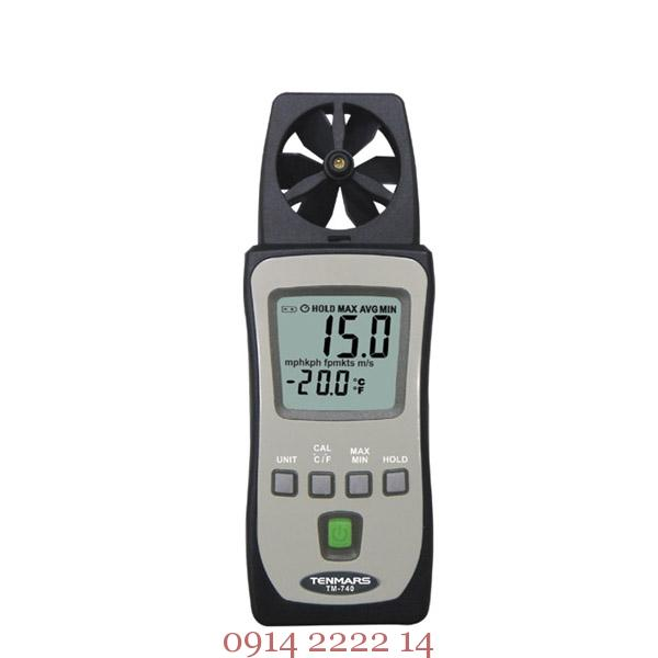 Máy đo tốc độ gió mini Tenmars TM-740