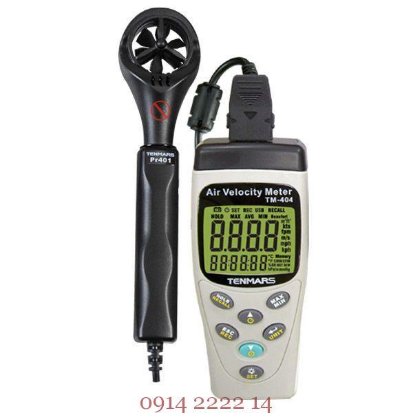 Máy đo tốc độ gió Tenmars TM-404