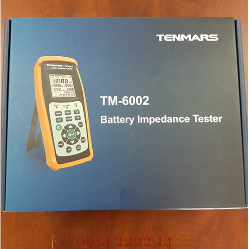 Máy test pin thử pin Tenmars TM6002 - Tenmars TM-6002