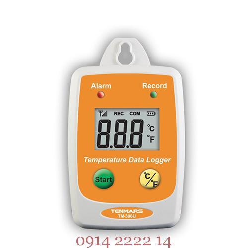 Nhiệt kế tự ghi dữ liệu Tenmars TM-306U: máy đo nhiệt độ