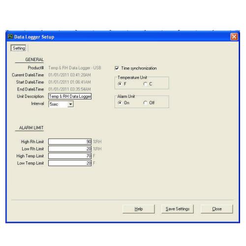 Cách kết nối nhiệt kế tự ghi với máy tính