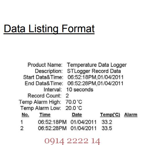 Định dạng dữ liệu hiển thị