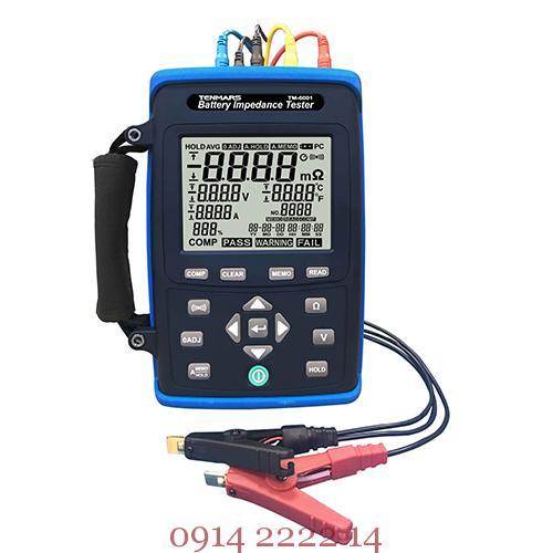 TM-6001 Máy kiểm tra pin ắc quy: máy test pin TM6001