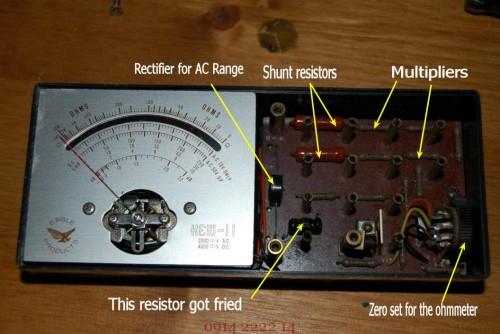 đồng hồ vạn năng đo điện
