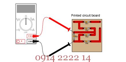cách sử dụng máy đo điện trở