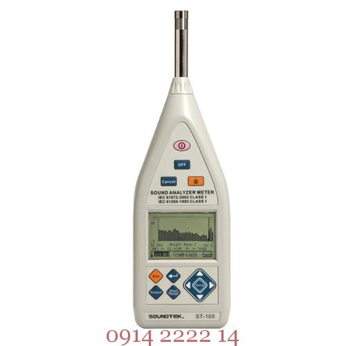 Máy đo phân tích tiếng ồn Tenmars ST-105
