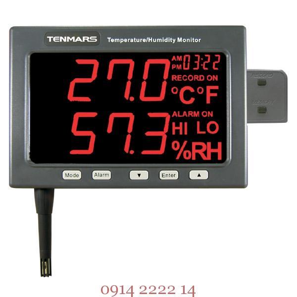 Máy đo nhiệt độ độ ẩm tự ghi Tenmars TM-185D