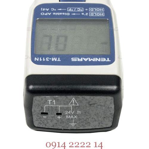 Cạnh dưới Máy đo nhiệt độ Tenmars TM-311N