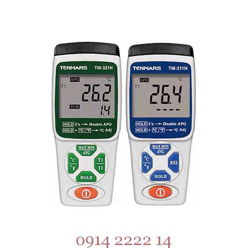 Hình ảnh máy đo nhiệt độ Tenmars TM-311N và TM-312N