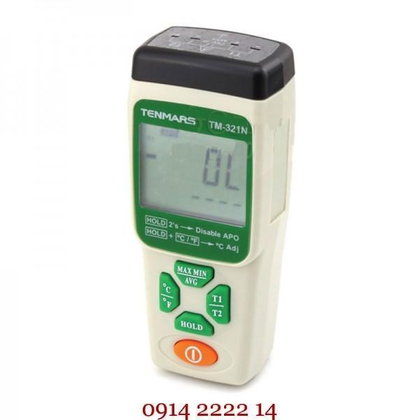 Máy đo nhiệt độ kiểu K Tenmars TM-321N