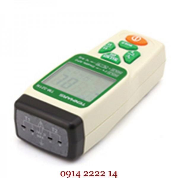 Máy đo nhiệt độ 2 kênh kiểu K Tenmars TM-321N