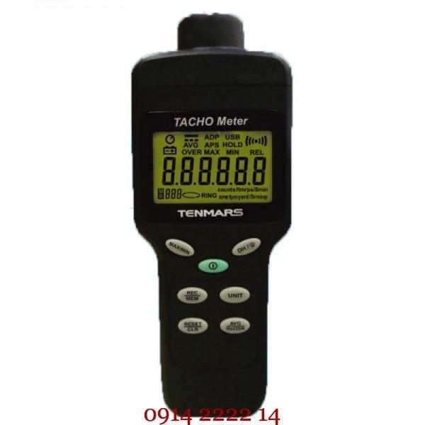 Máy đo tốc độ vòng quay Tenmars TM-4100D cận cảnh