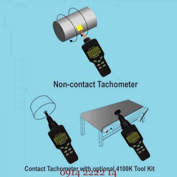 hướng dẫn cách đo Máy đo tốc độ vòng quay Tenmars TM-4100D
