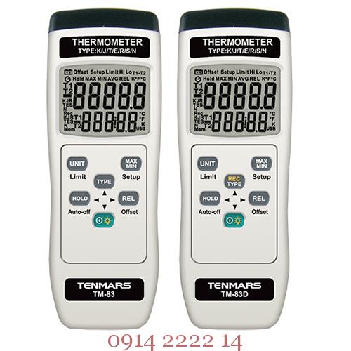 Nhiệt kế tự ghi Tenmars TM-83