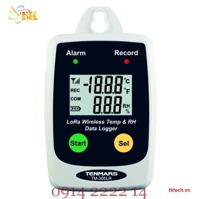 Hướng dẫn sử dụng nhiệt ẩm kế tự ghi Tenmars TM-305LR