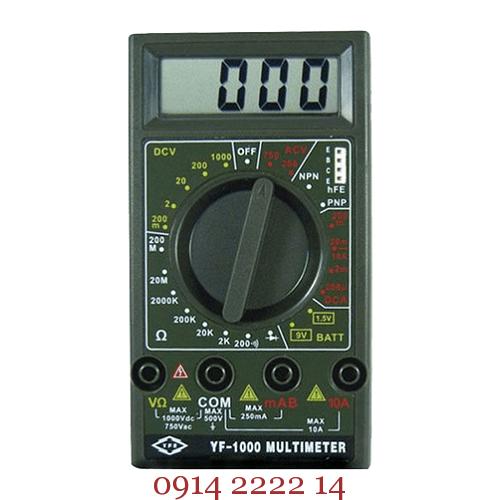 Đánh giá đồng hồ vạn năng Tenmars YF-1000 Reviews