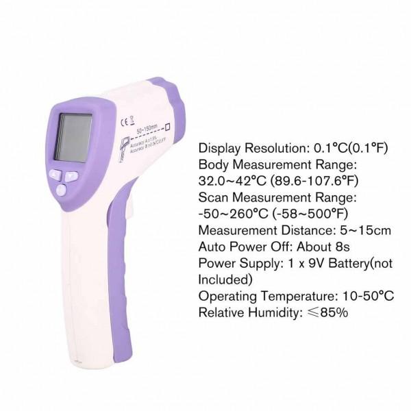 Máy đo thân nhiệt Flus IR-805 độ chính xác