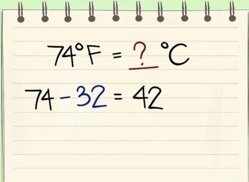 Đổi nhiệt độ Từ độ F sang độ C