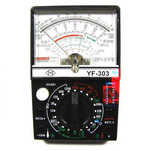 Đồng hồ vạn năng kim Tenmars YF-303