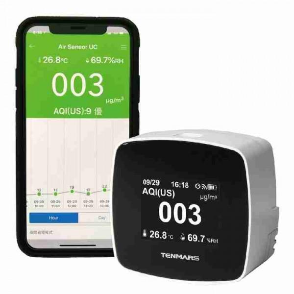 Máy đo chất lượng không khí Tenmars TM-280W (WiFi) PM2.5